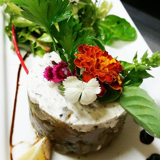 Recette du tartare de thon à la fleur de sel de Ré à l'Aneth (pour 6 personnes)